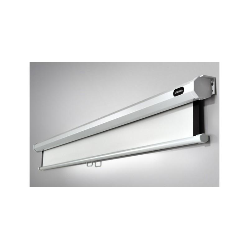 Manuale dello schermo di proiezione del soffitto di 180 x 180 cm di economia - image 11636