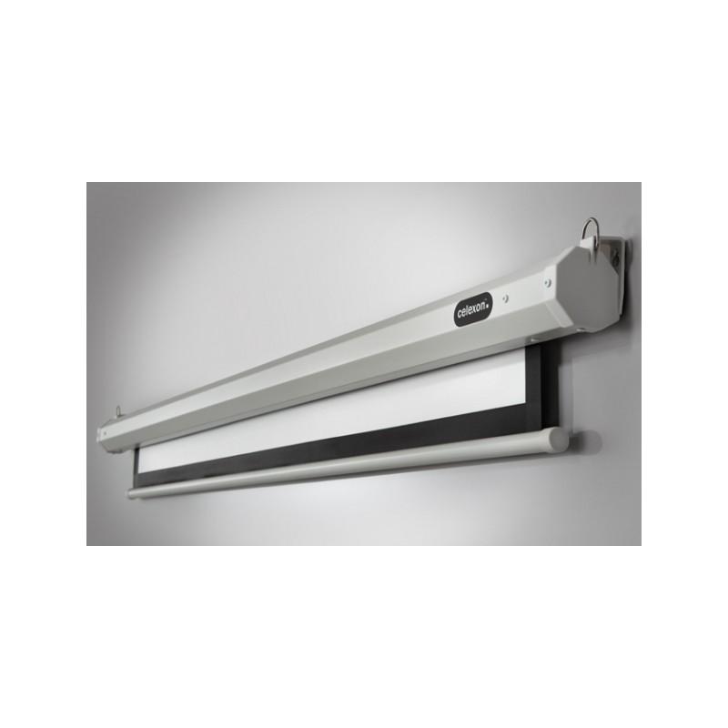 Pantalla de proyección de techo motorizados economía 160 x 90 cm - image 11728