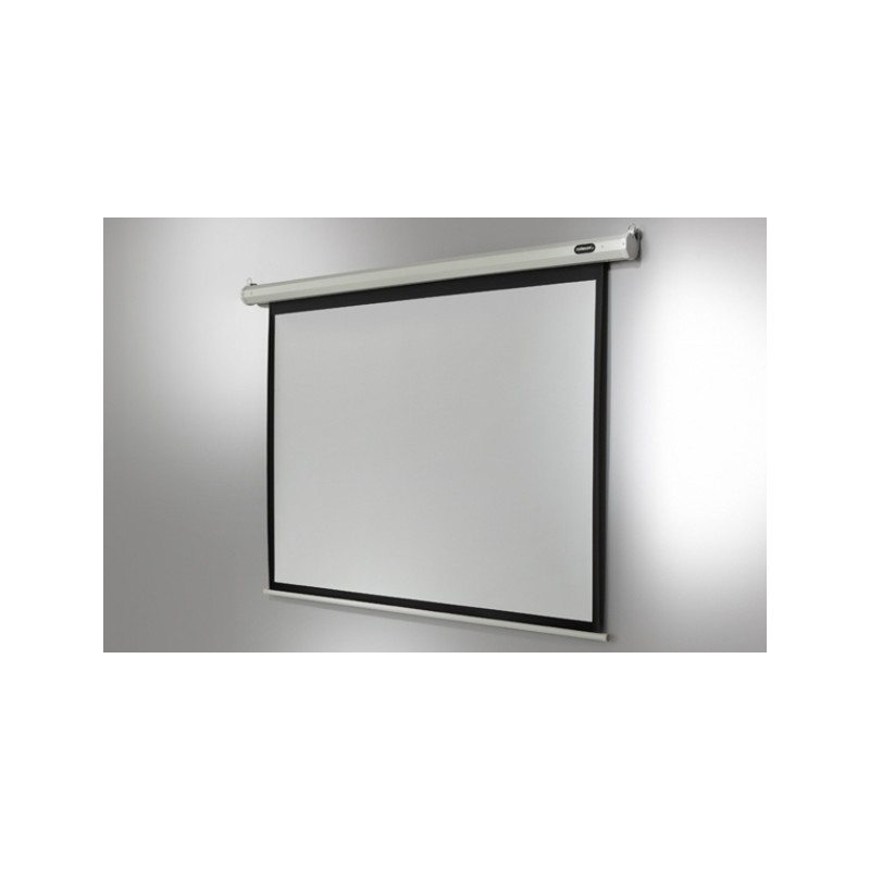 Economy-motorised 220 x 165 cm ceiling projection screen - image 11753