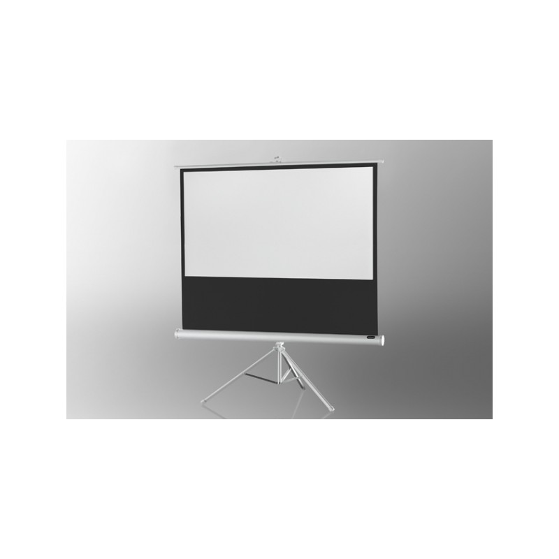 Projection screen on foot ceiling Economy 133 x 75 cm - White Edition - image 12009