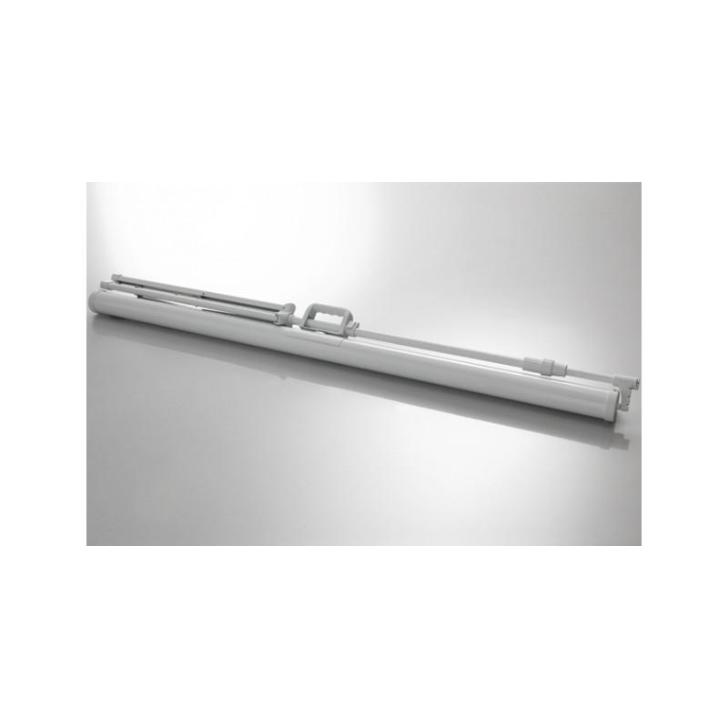 Schermo di proiezione a piedi soffitto economia 133 x 75 cm - White Edition - image 12011