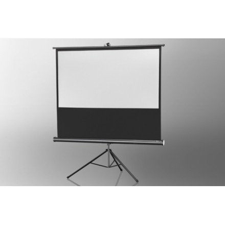 Projection screen on foot ceiling Economy 158 x 89 cm