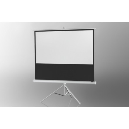 Projection screen on foot ceiling Economy 158 x 89 cm - White Edition