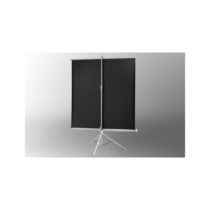 Projection screen on foot ceiling Economy 219 x 219 cm - White Edition - image 12066