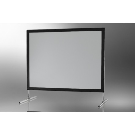 Projection screen on frame ceiling Mobile Expert 203 x 152 cm, projection from the front