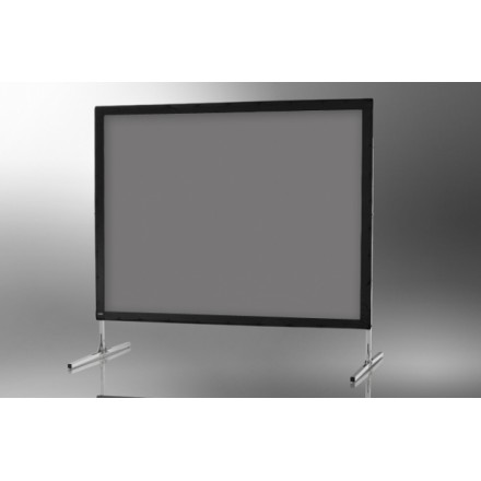 Projection screen on frame ceiling 'Mobile Expert' 305 x 229 cm, projection by l, rear