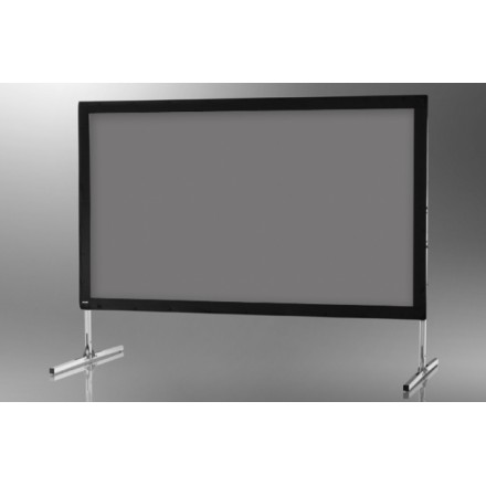 Projection screen on frame ceiling Mobile Expert 244 x 137 cm, projection by rear