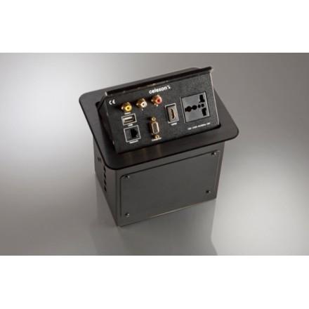 Boitier de table celexon Expert TA-200B_INT