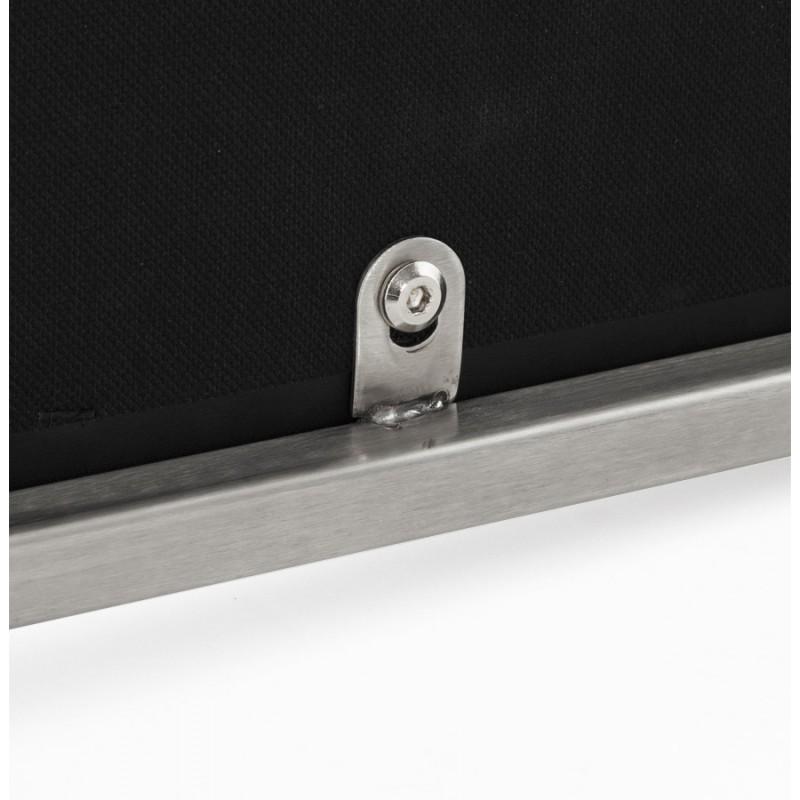 Tabouret design épuré LOIRET mi-hauteur (noir) - image 16102
