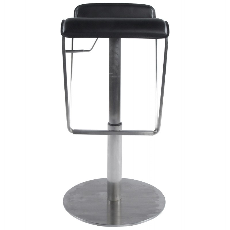 Bar stool rotating and adjustable ARIEGE (black) - image 16248