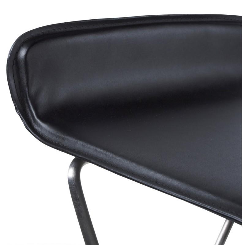 Tabouret de bar ARIEGE rotatif et réglable (noir) - image 16251
