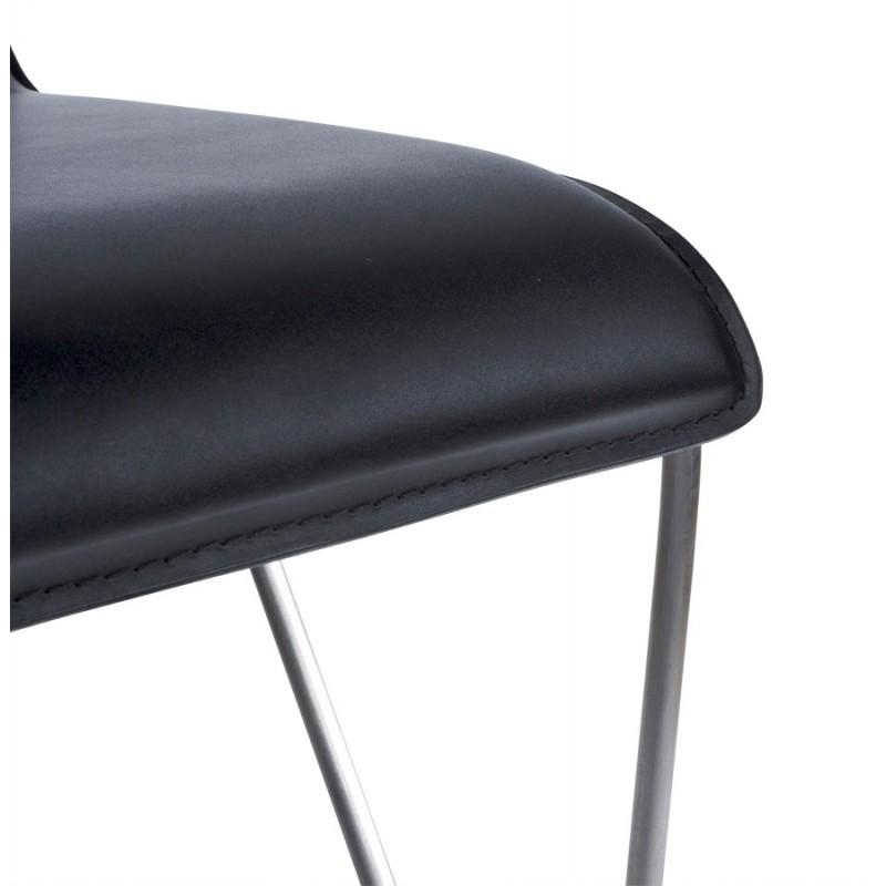 Tabouret de bar ARIEGE rotatif et réglable (noir) - image 16252