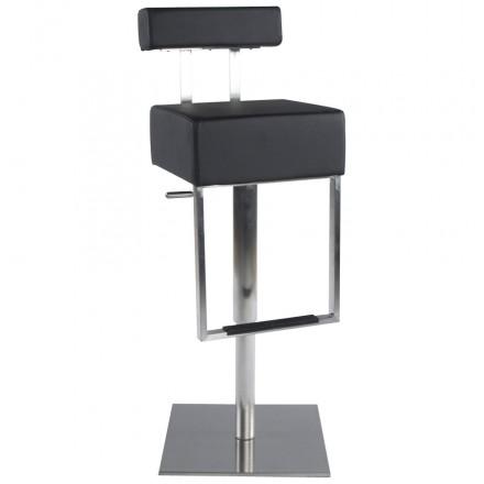 De Bar Moderne Rotatif Et Réglable Gardon (Noir)