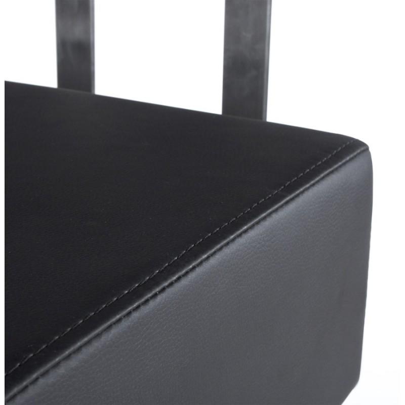 Tabouret de bar moderne rotatif et réglable GARDON (noir) - image 16361