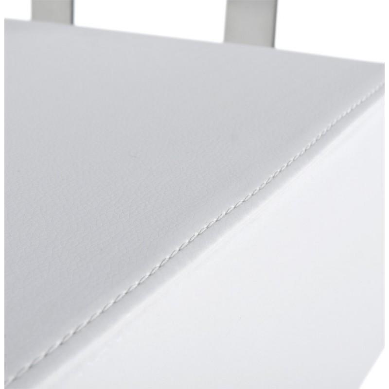 Tabouret de bar moderne rotatif et réglable GARDON (blanc) - image 16372