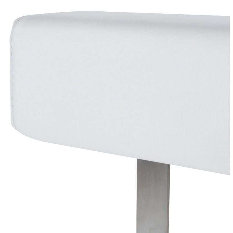 Tabouret de bar moderne rotatif et réglable GARDON (blanc) - image 16373