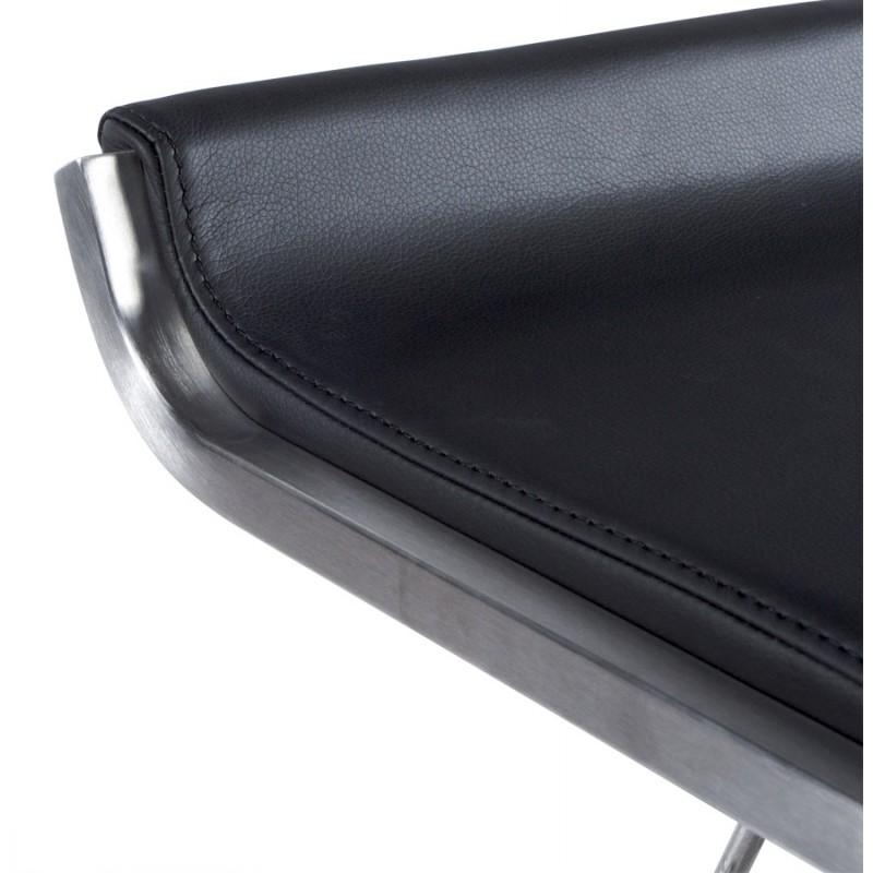 Tabouret design carré rotatif et réglable LOUE (noir) - image 16442