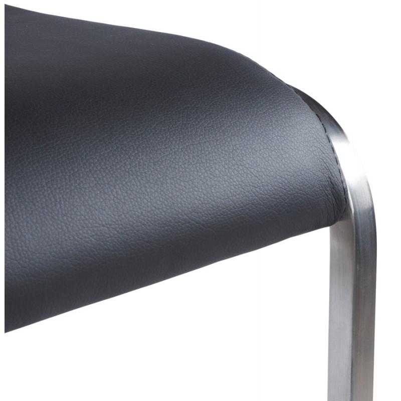 Tabouret design carré rotatif et réglable LOUE (noir) - image 16443