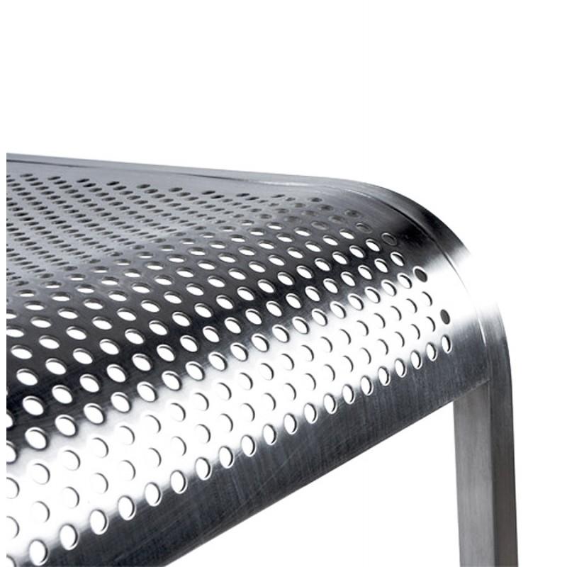Tabouret de bar design VILAINE en acier brossé (acier) - image 16467
