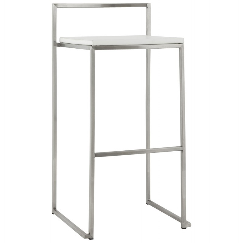 Bar stool design square DORDOE (white) - image 16631