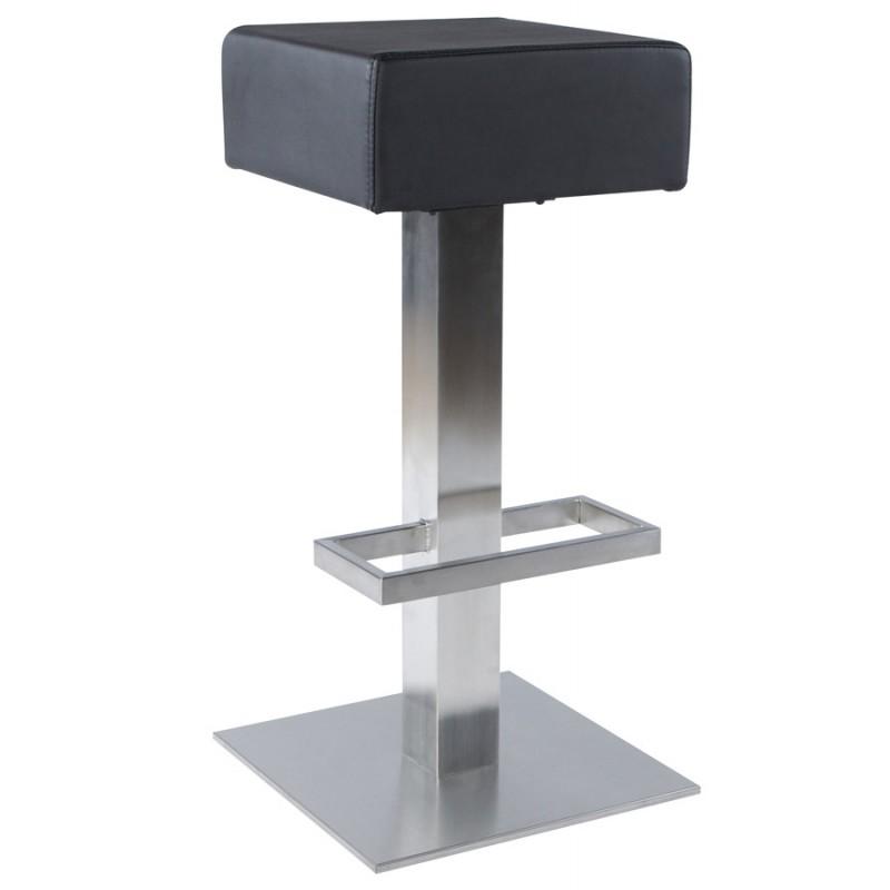 Design swivel bar stool OISE rotary (black) - image 16645