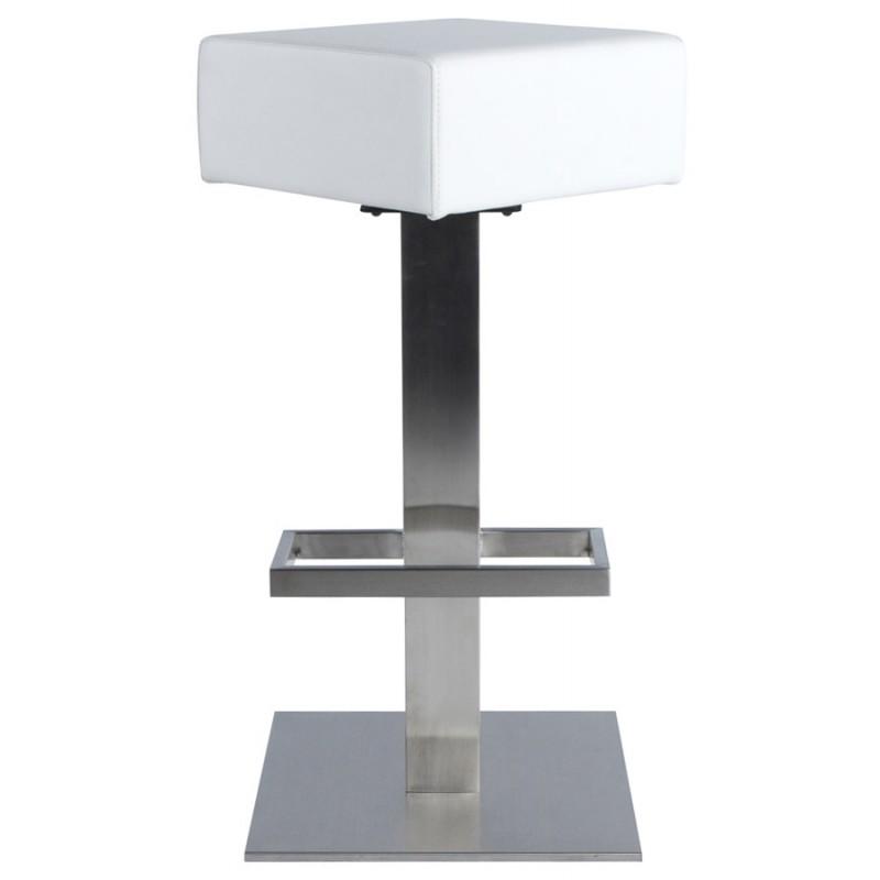 Diseño taburete de la barra giratoria OISE (blanco) - image 16656