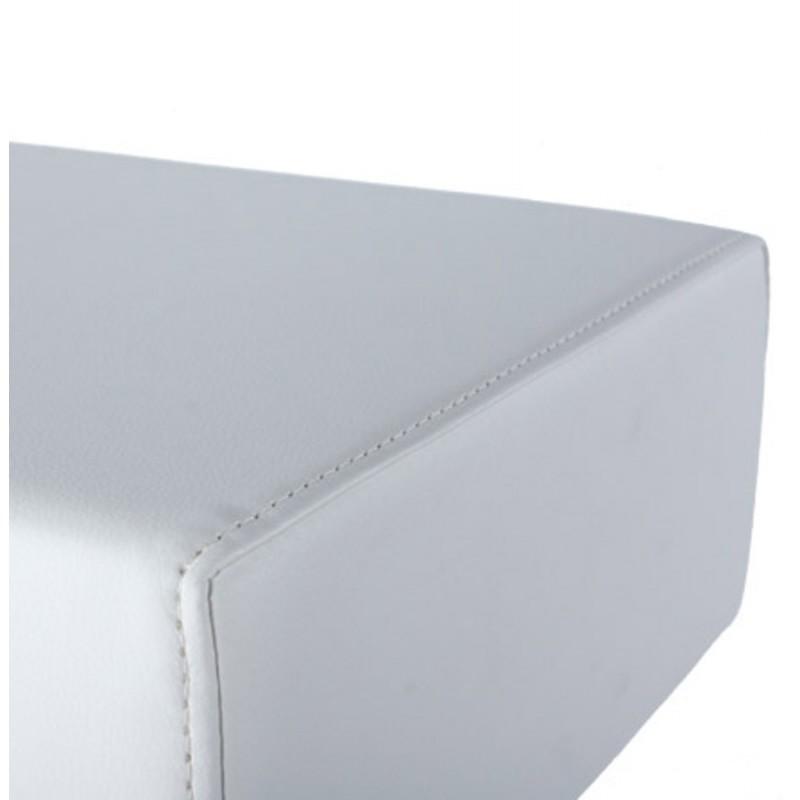Diseño taburete de la barra giratoria OISE (blanco) - image 16657