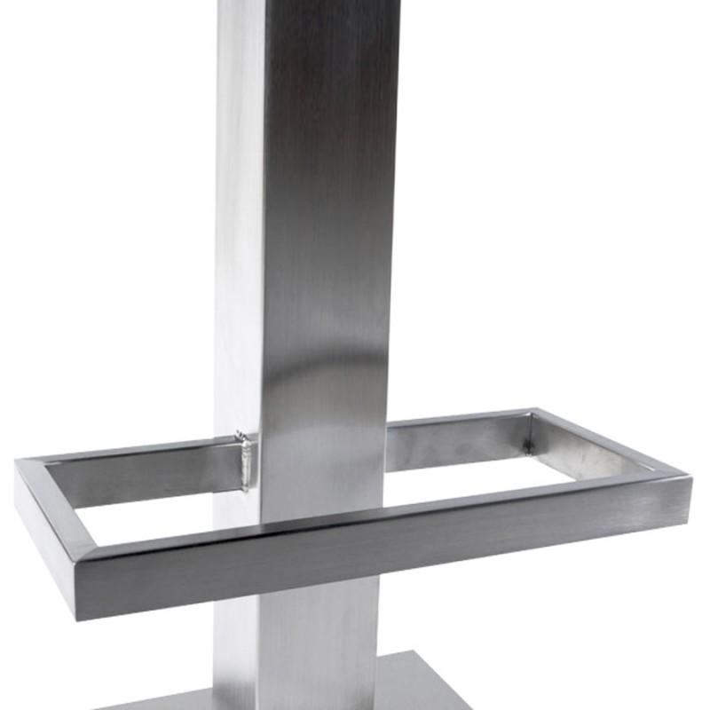 Diseño taburete de la barra giratoria OISE (blanco) - image 16660