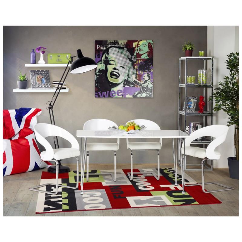 Chaise contemporaine LOING (blanc) - image 16754