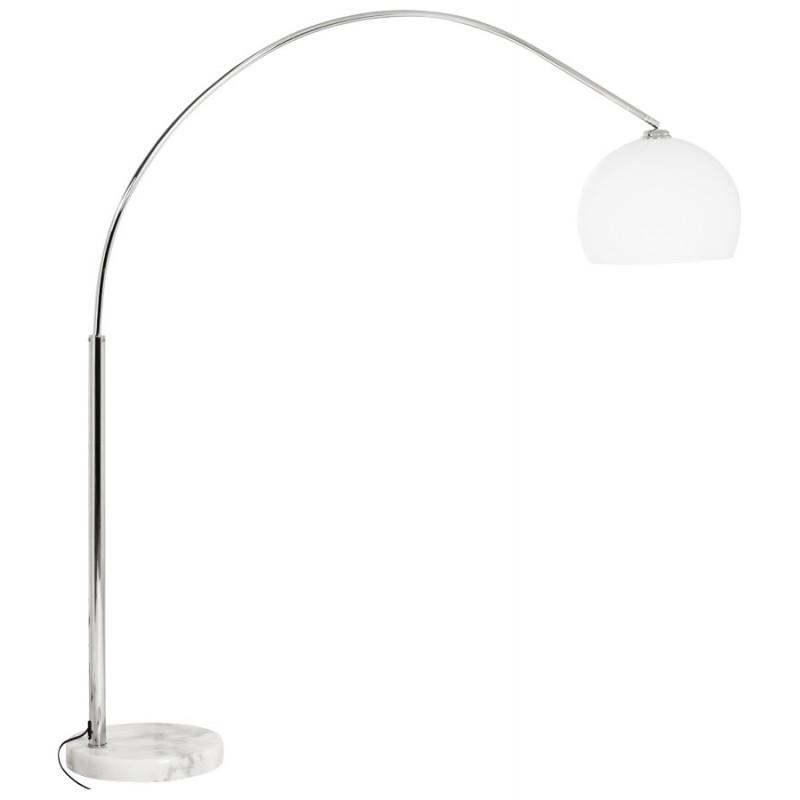 lampe sur pied design moerol small en acier chrom. Black Bedroom Furniture Sets. Home Design Ideas