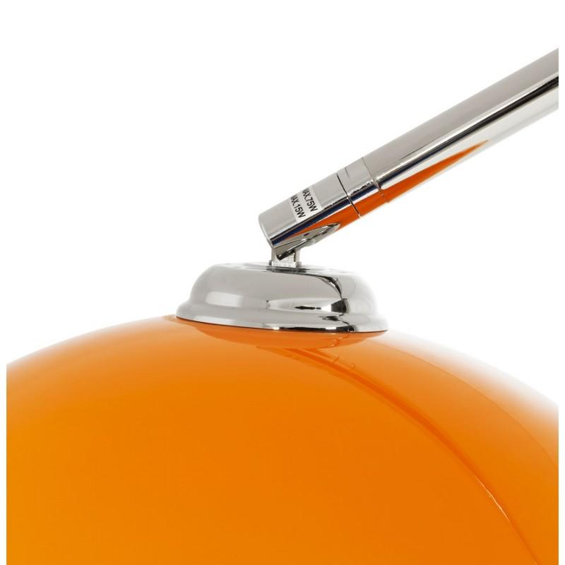 Lámpara de pie de diseño de pantalla ajustable de MOEROL XL (grande y naranja) - image 16997