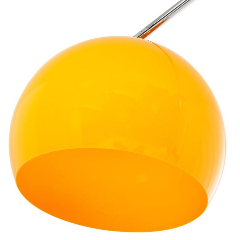 Lámpara de pie de diseño de pantalla ajustable de MOEROL XL (grande y naranja) - image 17000