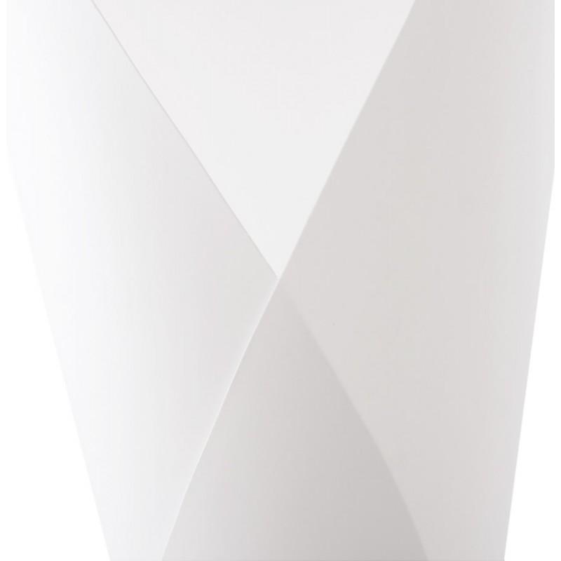 Lampe sur pied design STERNE en acier brossé (blanc) - image 17048