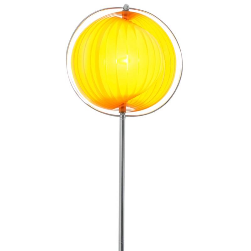 Lampe sur pied design BARBICAN BIG en acier chromé (orange) - image 17059