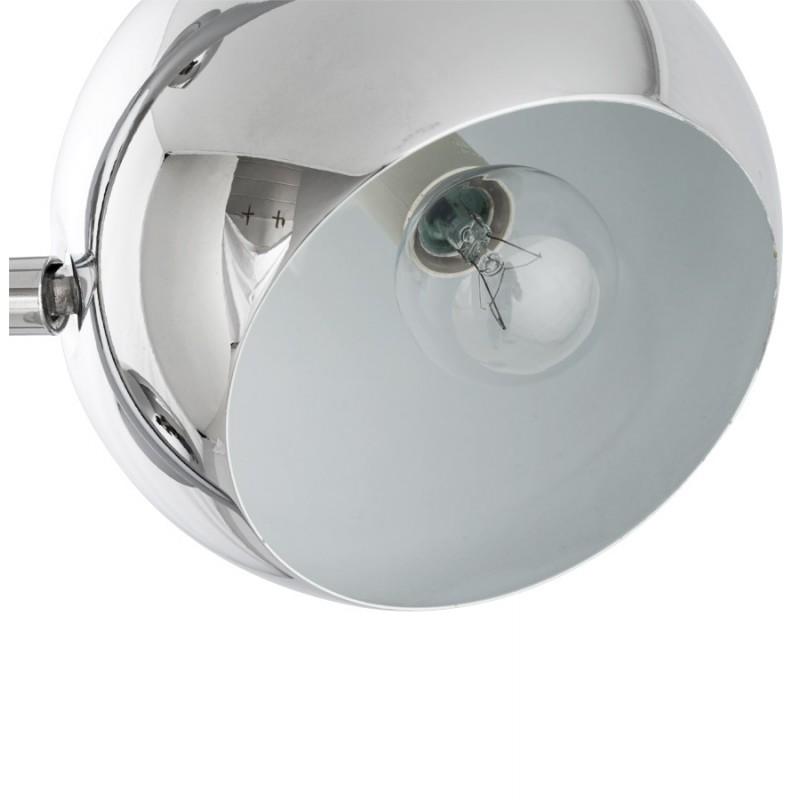 Lampe sur pied design 3 abat-jours TANGARA en acier chromé (chromé) - image 17086