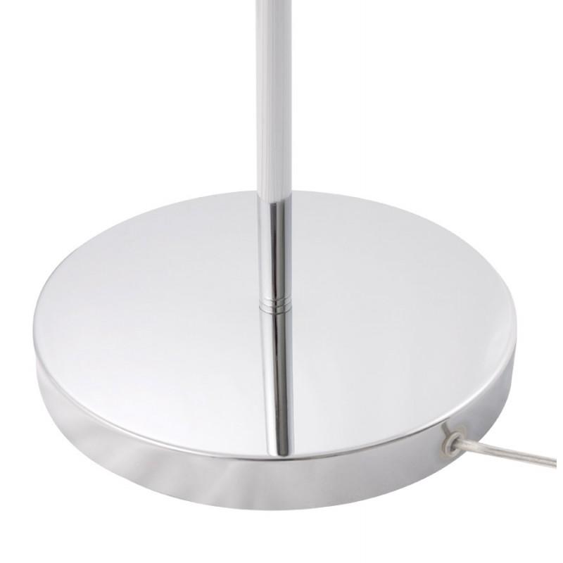 lampe sur pied design 10 bras flexibles roche en acier. Black Bedroom Furniture Sets. Home Design Ideas