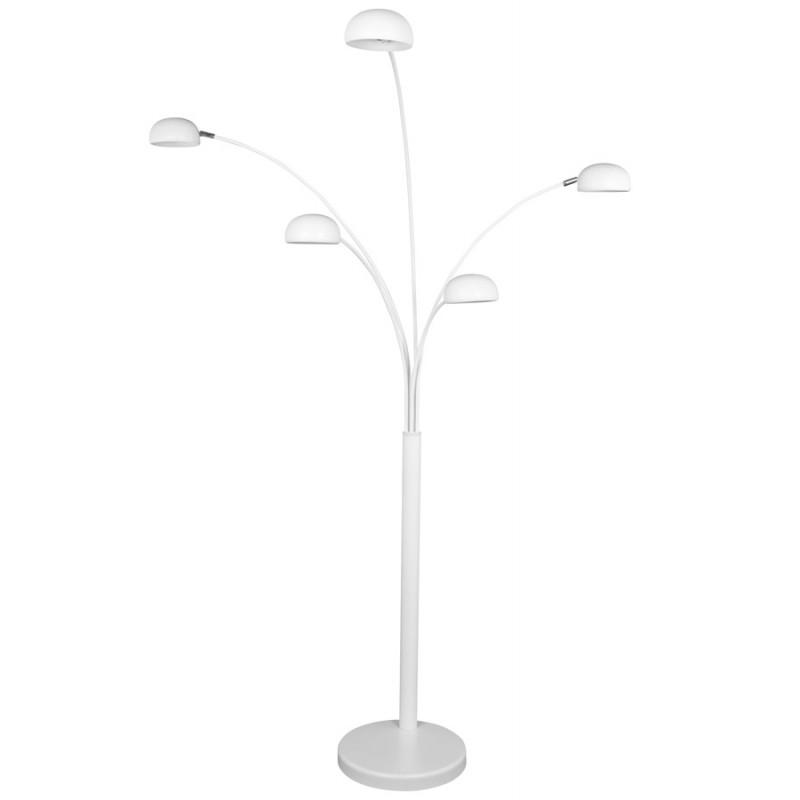 Diseño de lámpara 5 tonos ROLLIER pintado metal (blanco) - image 17119