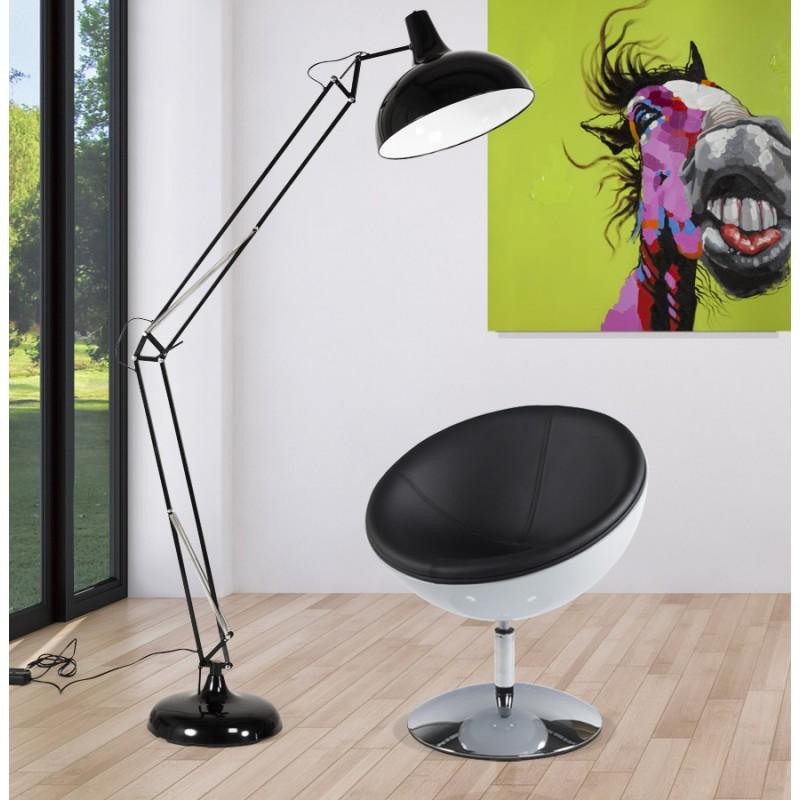 Diseño de lámpara metal ROLLIER (negro) - image 17146