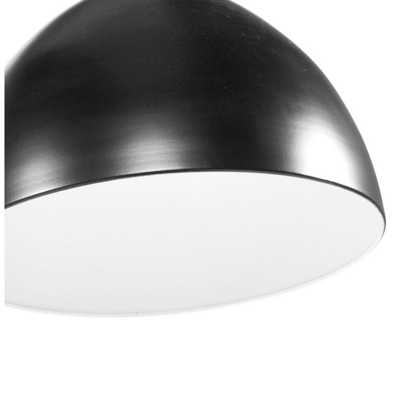 Lampe à suspension design PAON en métal (noir) - image 17169