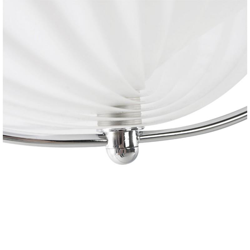 Lampe à suspension design MOINEAU en métal (blanc) - image 17219