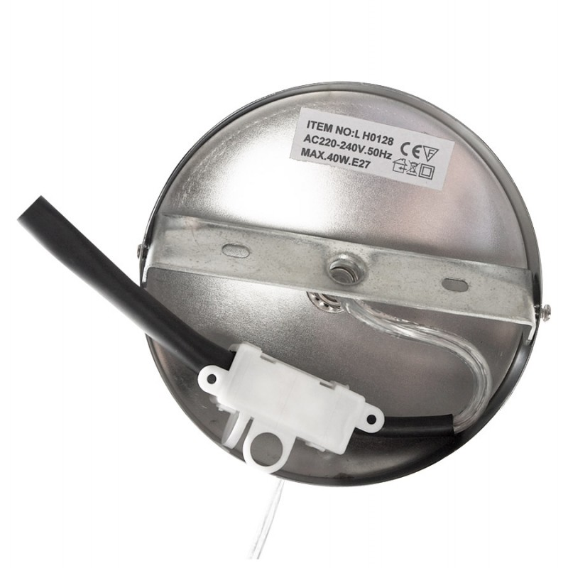 Lampe à suspension design MOINEAU en métal (blanc) - image 17223