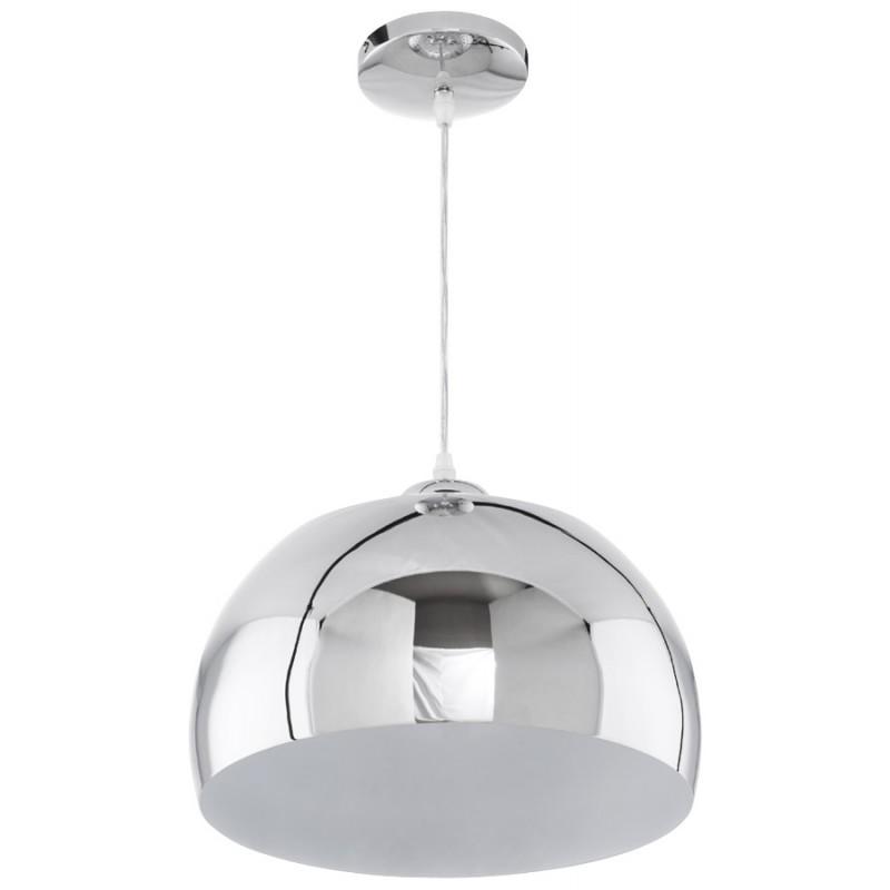 Lampe à suspension design ARRENGA en métal (chromé) - image 17259