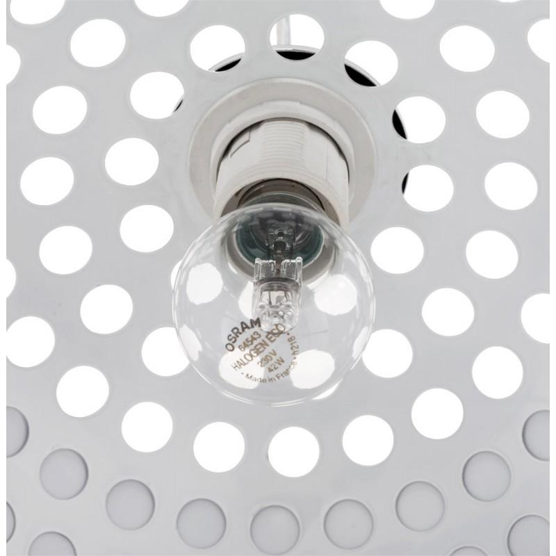 Lampe à suspension design ARRENGA en métal (chromé) - image 17262