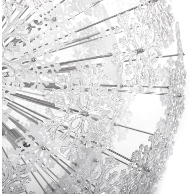 Lampe à suspension design ANABE en métal (chromé) - image 17274