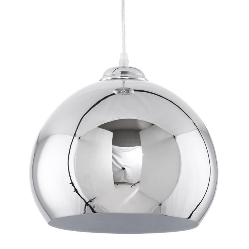 Lampe à suspension design ASTRILD en métal (chromé)