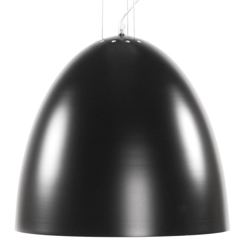 Lampada metallo design a sospensione BARBION (nero)