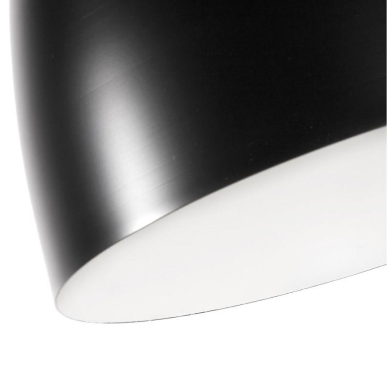 Lampada metallo design a sospensione BARBION (nero) - image 17296