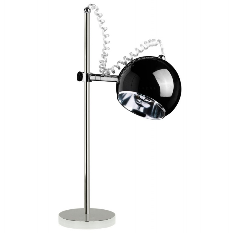 Design table BATARA metal lamp (black)  - image 17350