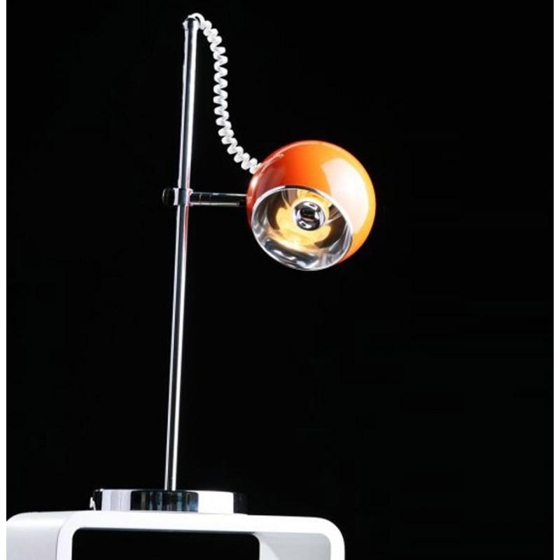 Lampe de table design BATARA en métal (orange) - image 17362