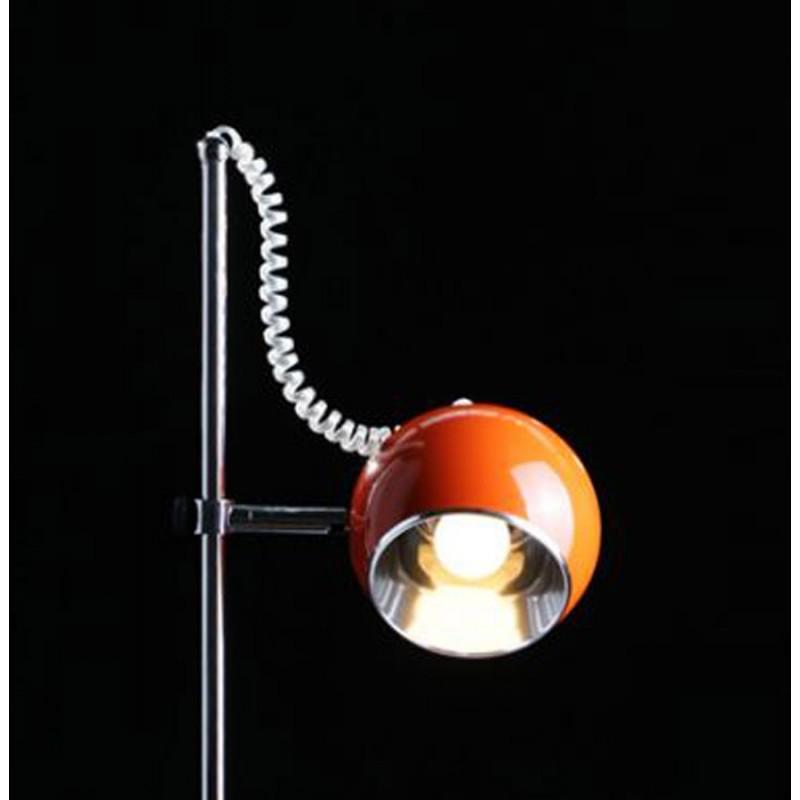 Lampe de table design BATARA en métal (orange) - image 17363